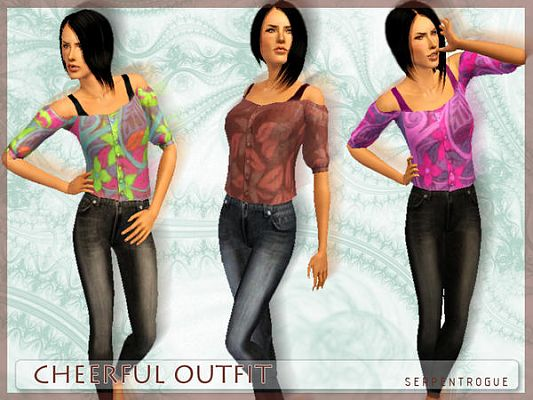 Sims 3 outfit, clothing, clothes, fashion