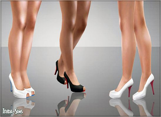 Sims 3 shoes, footwear, heels, pumps