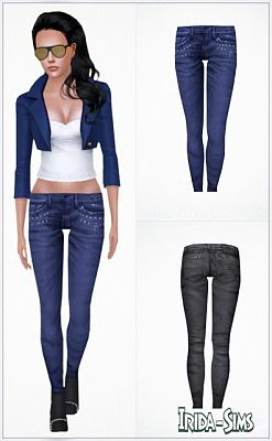 Sims 3 jeans, clothes, females