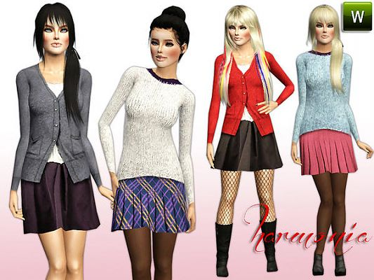 Sims 3 outfit, cloth, clothing, fashion
