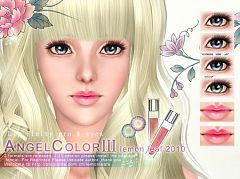 Sims 3 eyes, contacts, makeup, lips, lipstick