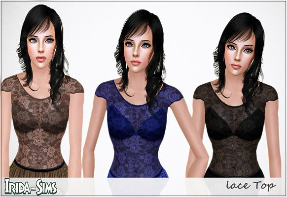 Sims 3 outfit, fashion, clothing, female, top