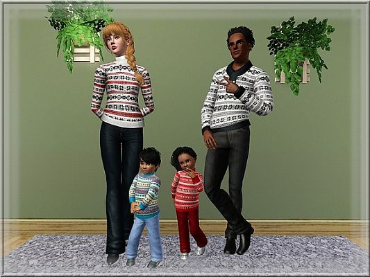 Sims 3 outfit, fashion, clothing, pullover