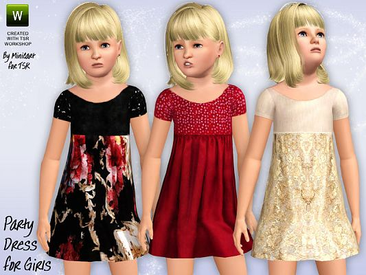 Sims 3 outfit, fashion, clothing, female, dress, girls