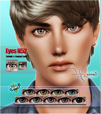 Sims 3 eye, eyes, contacts, lip, lips