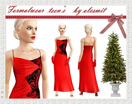 Sims 3 dress, cloth, clothing, fashion, outfit