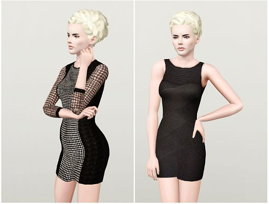 Sims 3 outfit, dress, clothing, female, sims 3