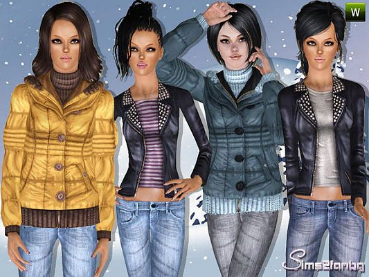Sims 3 outfit, outdoor, clothing, female, sims 3