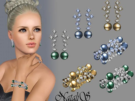 Sims 3 accessory, jewelry, sims3, sims 3