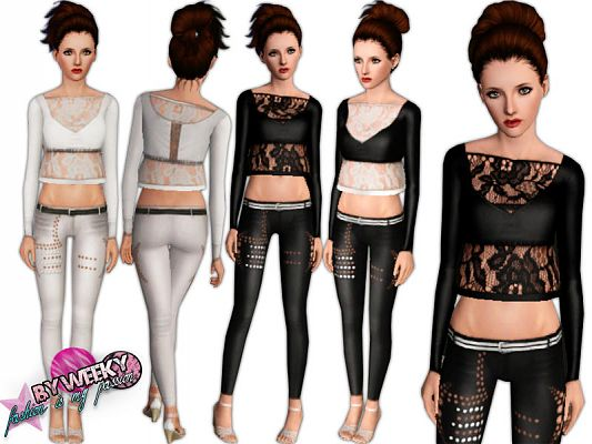 Sims 3 outfit, clothing, female, sims 3