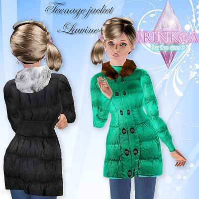 Sims 3 outfit, fashion, clothing, girls, jacket, outerwear