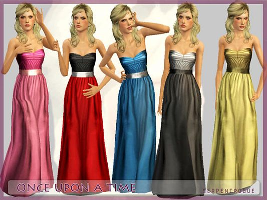 Sims 3 dress, clothing, fashion, gown