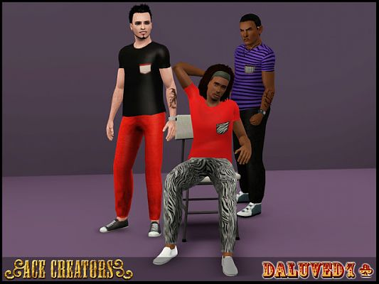 Sims 3 top, clothing, male, outfit
