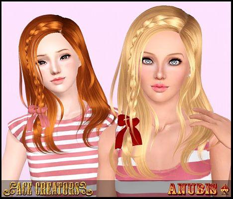 Sims 3 vlasy, účes, žena, The Sims 3, The Sims 3, retexture