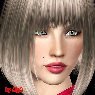 Sims 3 sim, female, model, sims 3