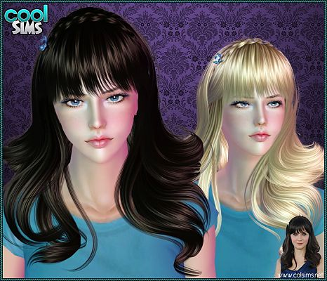 Sims 3 hair, hairstyle, female, sims 3, sims3