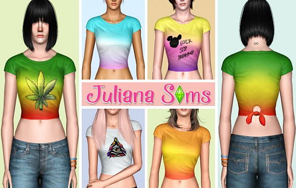 Sims 3 top, clothing, fashion