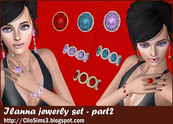 Sims 3 jewelry, set, accessory