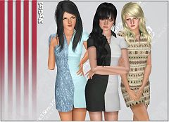Sims 3 dress, outfit, fashion, clothing, sims 3, tennis