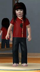 Sims 3 shirt, top, cloth, clothes, japanese, fashion
