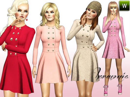 Sims 3 coat, trench, clothing, sims3