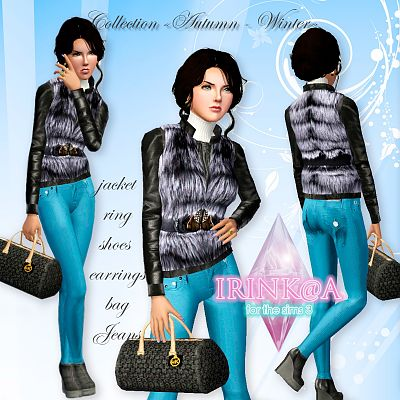 Sims 3 outfit, fashion, clothing, female, accessories, jewelry