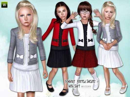 Sims 3 sweater, pullover, top, females, fashion