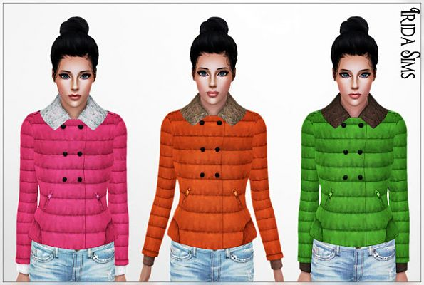 Sims 3 jacket, outdoor, sims 3
