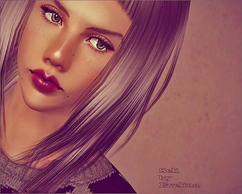 Sims 3 sim, sims, female, model, sims 3