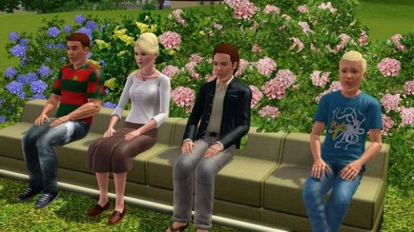 Sims 3 sim, sims, female, male, family, model, sims 3
