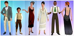 Sims 3 outfit, fashion, clothing, sims3, twenties