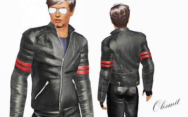 Sims 3 jacket, clothing, male