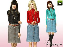 Sims 3 outfit, fashion, clothing, sims 3