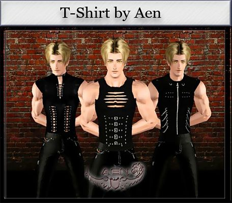 Sims 3 top, clothes, fashion, males, t-shirt