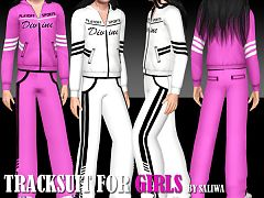 Sims 3 outfit, sport, athletic, clothes, girls