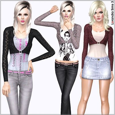 Sims 3 top, outfit, fashion, clothing, casual, female