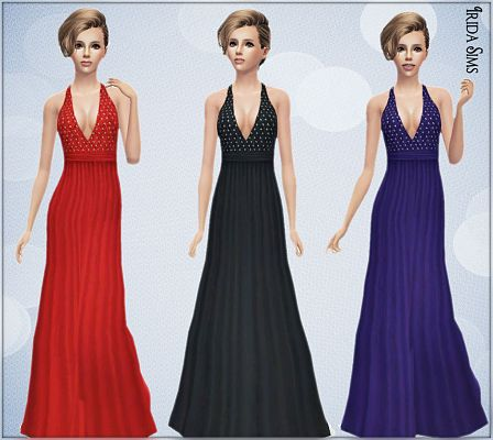 Sims 3 dress, fashion, clothing, casual, female,formal, gown