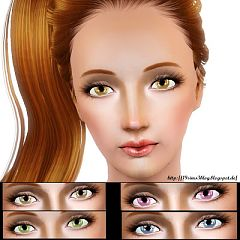 Sims 3 eyes, contact, lenses