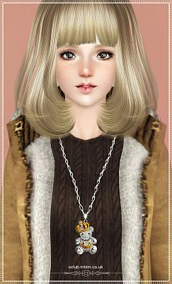 Sims 3 charm, accessories, necklace, jewelry, pendant, earrings