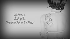 Sims 3 tattoo, tattoos, dreamcatcher