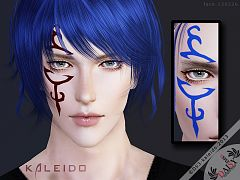 Sims 3 tattoo, tattoos, face