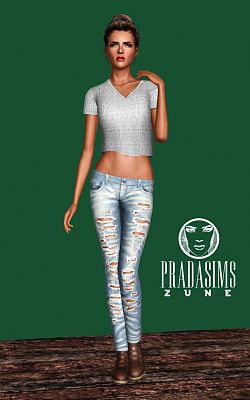 Sims 3 clothing, set, fashion