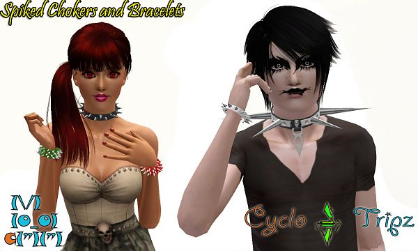 Sims 3 jewelry, spike, ring, accessory