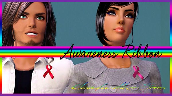 Sims 3 ribbons, accessory