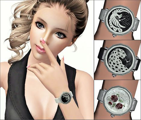 Sims 3 watch, accessory, jewelry