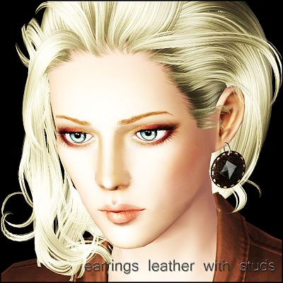 Sims 3 earrings, jewelry, female, accessories