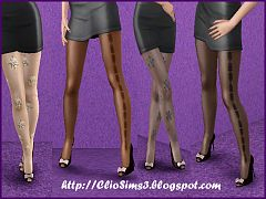Sims 3 stockings, accessory, fashion