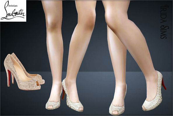 Sims 3 shoes, high heels, designer, pumps, fashion, female