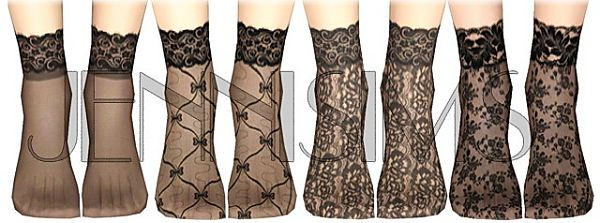 Sims 3 stockings, accessories, female, fashion