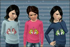 Sims 3 outfit, fashion, clothing, female, child